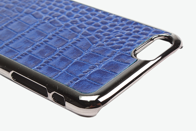 gaze iphone6 手机背壳(海蓝色鳄鱼纹)