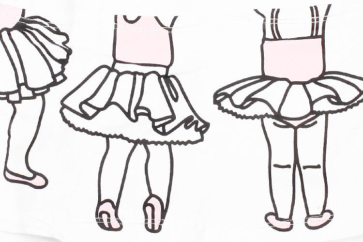 手绘芭蕾图片 桌面