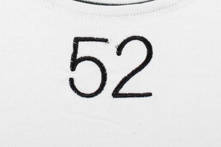 cokein t恤|cokein 美式数字刺绣拼接短袖t恤正品 | !图片