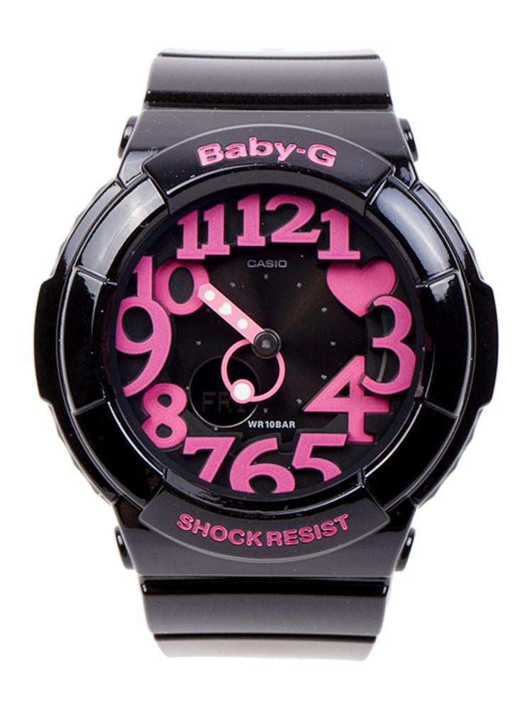 谁知到baby-g shock resist的手表怎么调时间,我的快了9分钟!