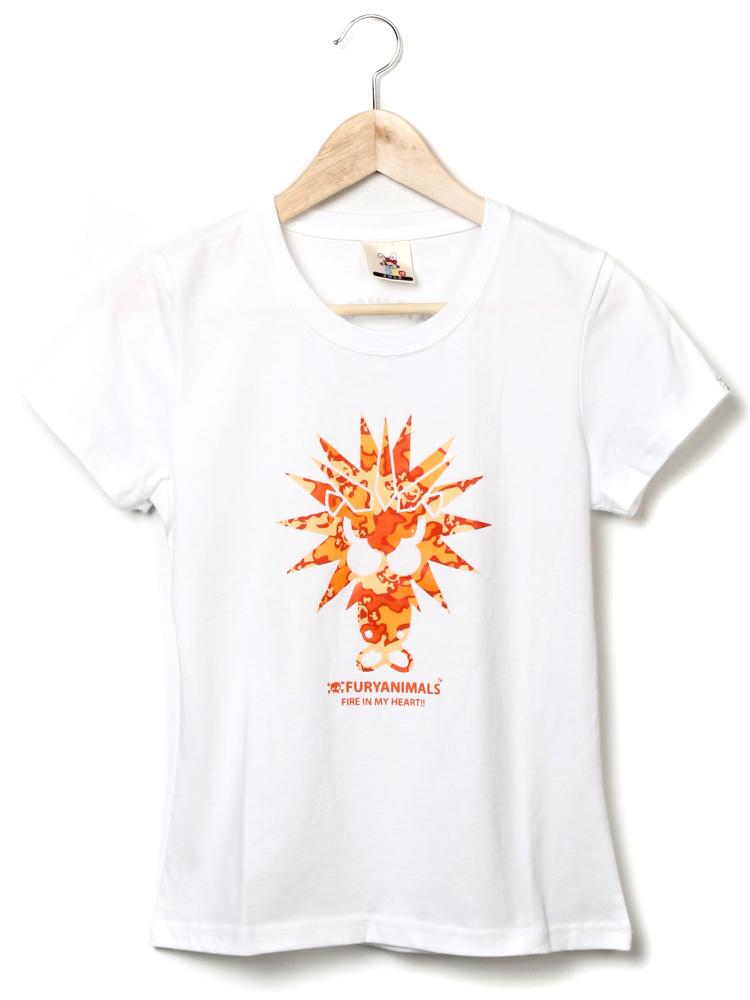 furyanimalsnormal迷彩系列狮子短袖tee