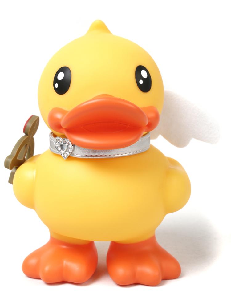 b.duck小鸭子丘比特钱箱 存钱罐 储蓄罐 黄