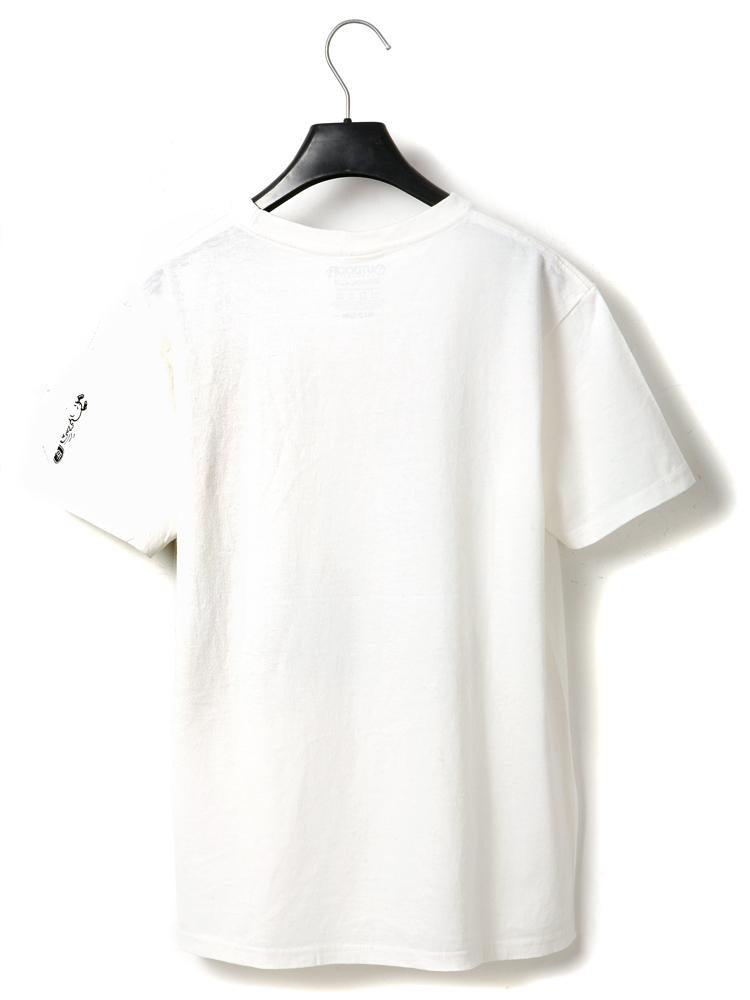 创意手绘t恤衫图案 男士短袖t恤