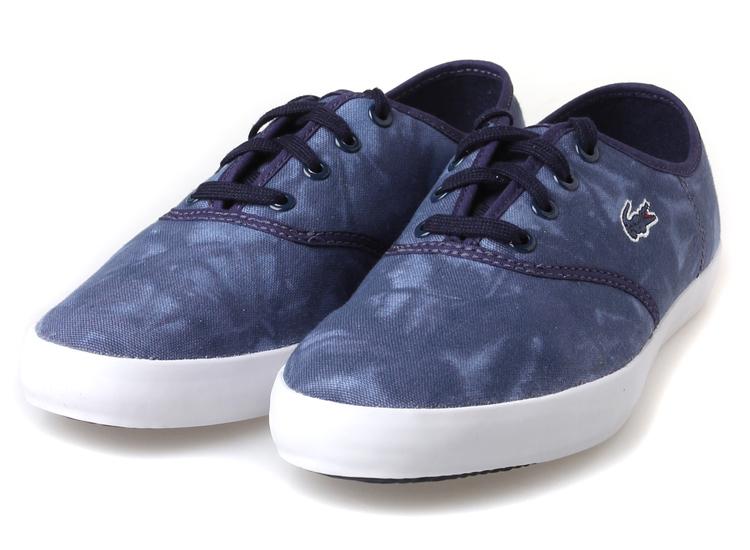 yoho有货lacoste/法国鳄鱼女鞋休闲鞋帆布鞋女23spw