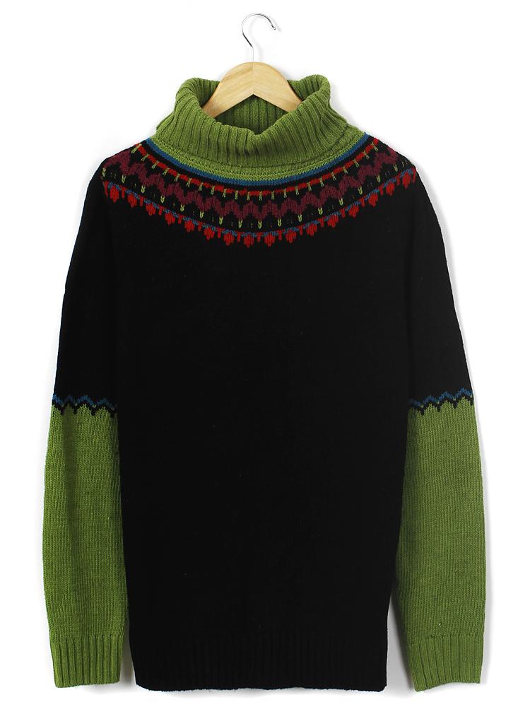 mixtrix 名族花纹毛衣