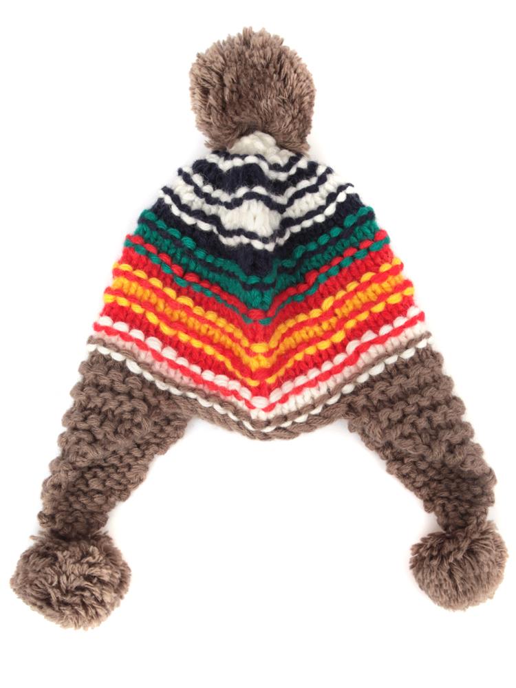 帽子毛球做法图解