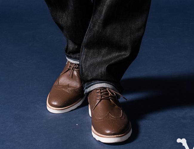evildoer x ivyboi雕花皮鞋