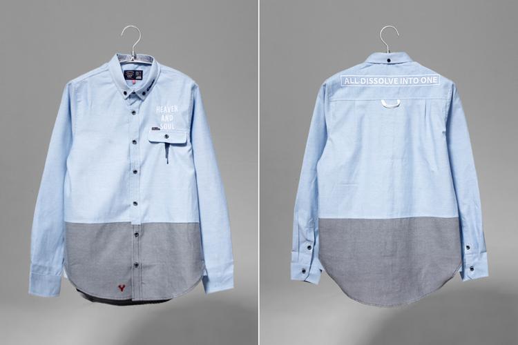 服裝設計圖襯衣