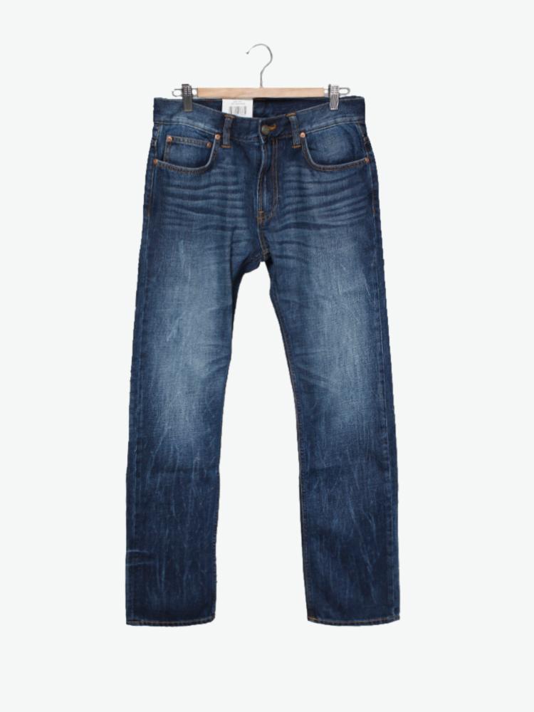 lee 牛仔裤|lee 标准修身中腰直脚牛仔裤正品 |yoho!