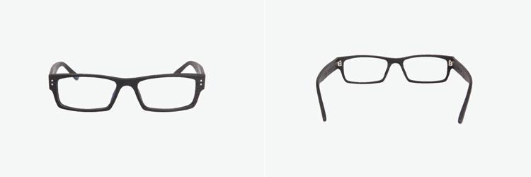眼镜简笔画矢量图