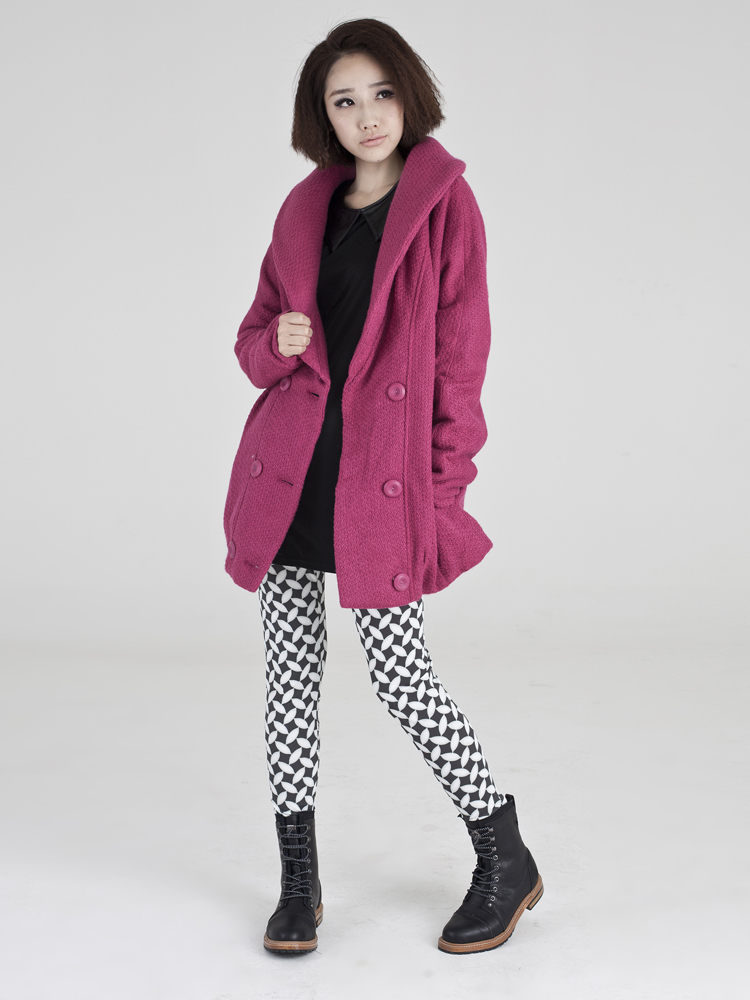 vifille 针织大衣外套