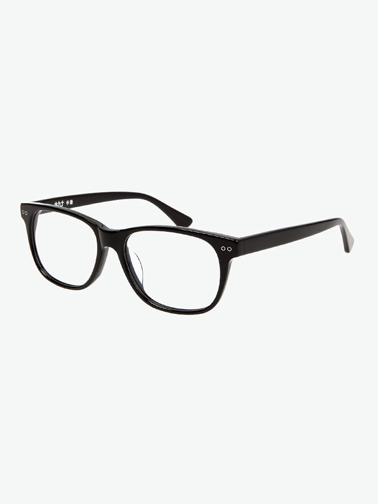木九十 板材黑框眼镜框