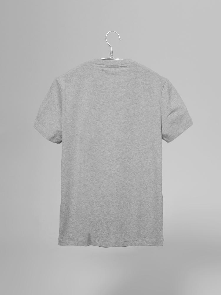 手绘t恤灰色