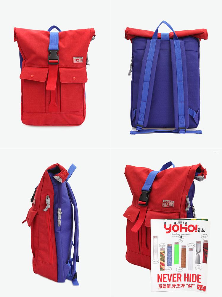 converse 变形工装背包      设计适合不同用途和工具的变形