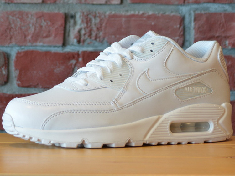 nike air max 90 leather 男子复古跑鞋