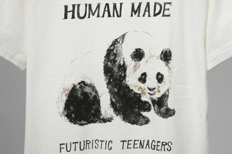 熊猫手绘t恤