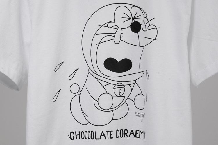 chocoolate t恤|:chocoolate x dora 哆啦a梦人物t恤