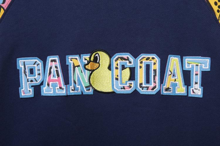 pancoat 动物嘉年华拼接卫衣