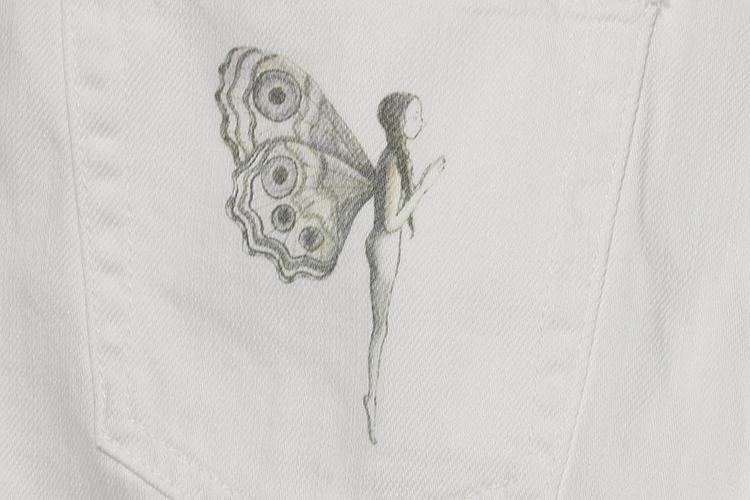 袖子款式手绘图