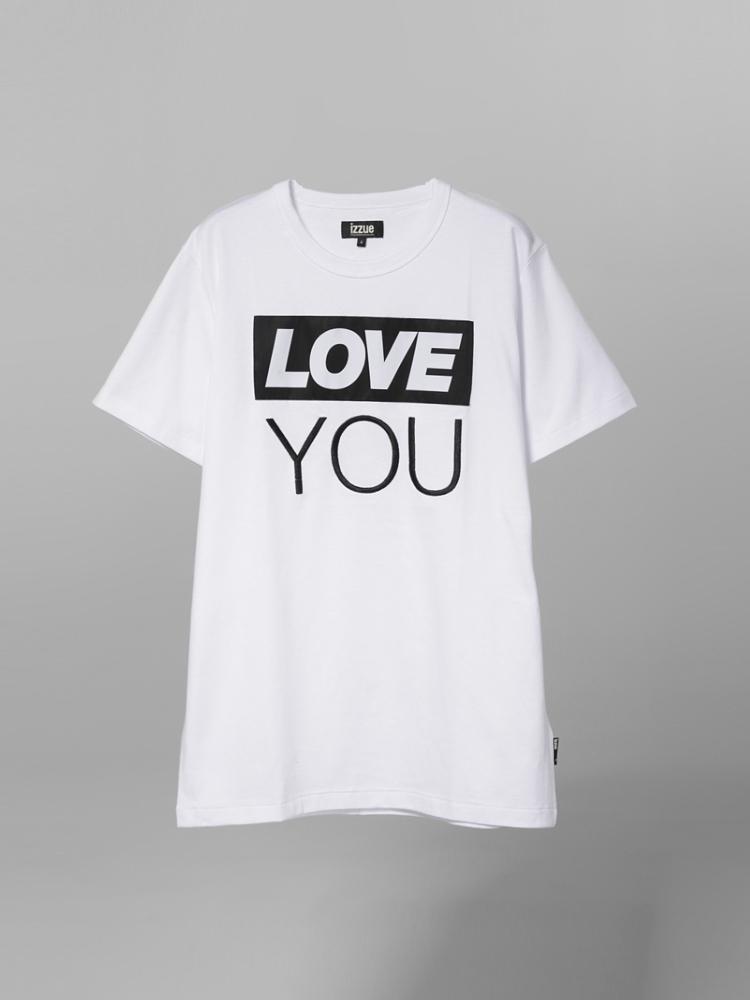 前幅创意得运用了box logo设计,印制的love you字样,通过不