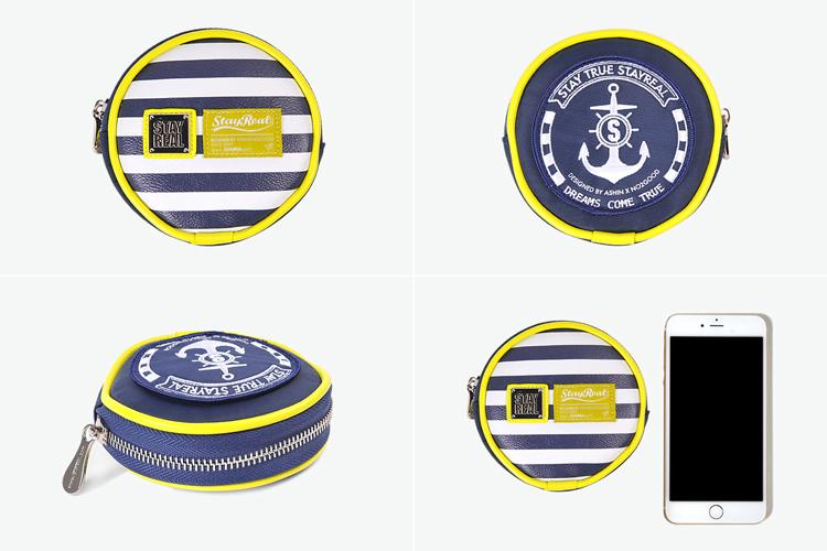 以海水蓝为主调,辅以天空白及阳光黄的海洋风色系,而水手船锚logo元素