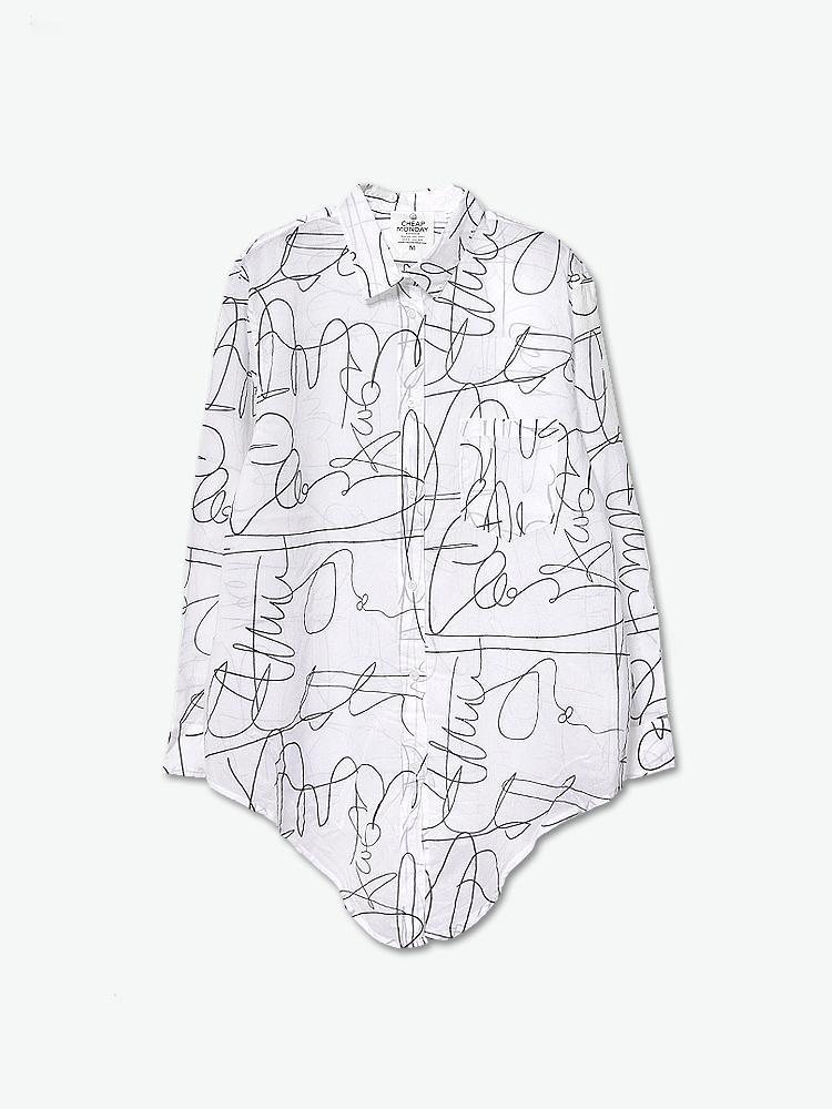 衬衫手绘设计稿