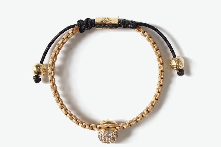 nialaya 首饰|nialaya 女士绳编骷髅头手链正品 |yoho