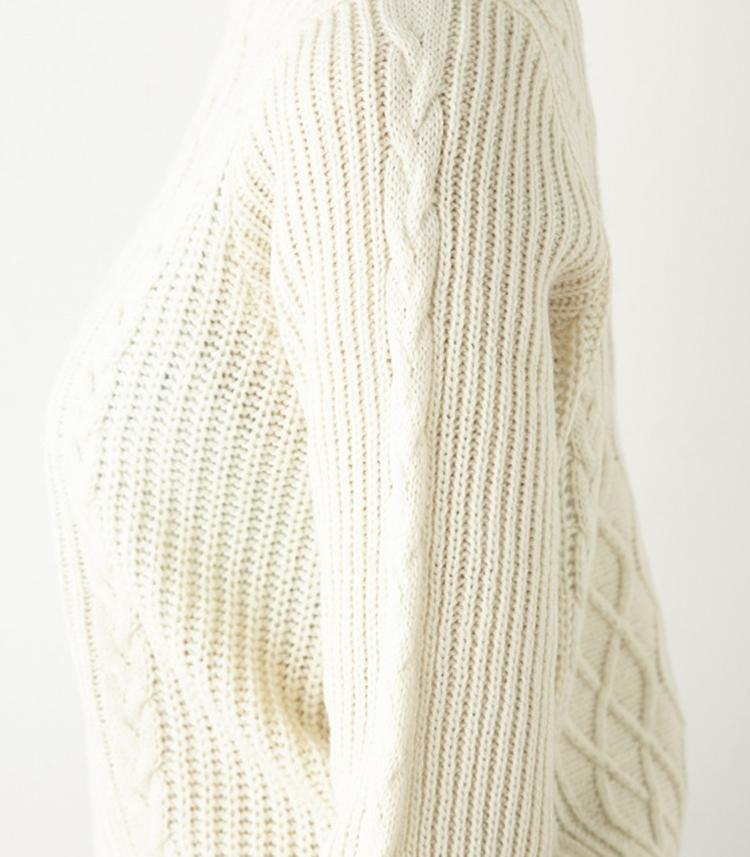 sly 网状编织毛衣
